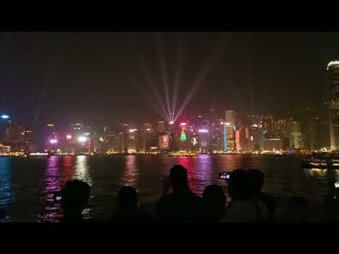 Dancing Buildings on Hong Kong island