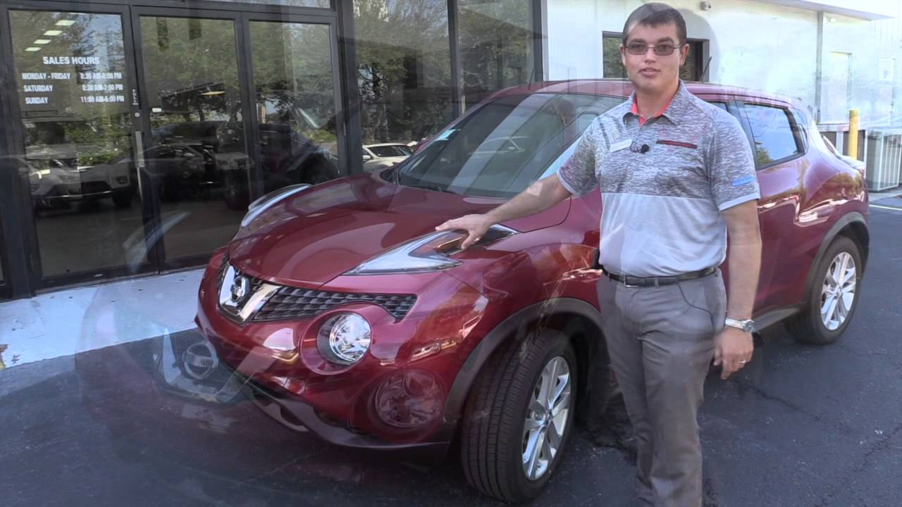 2015 Nissan Juke SV, New Port Richey Nissan Dealer, Maus Nissan, New Car,  SUV   YouTube