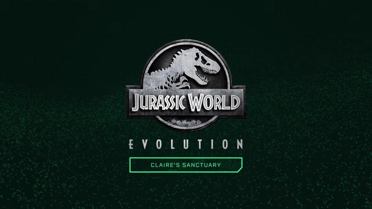 jurassic world evolution  Убежище Клэр  youtube