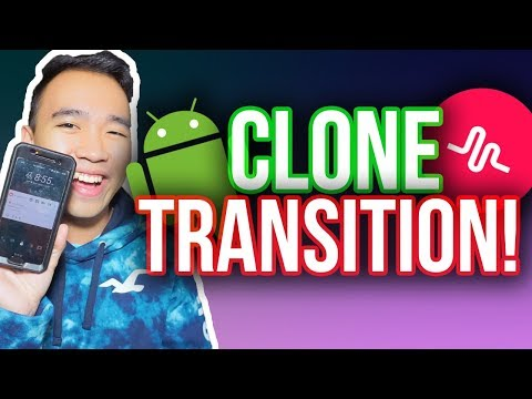 MUSICAL.LY CLONE TRANSITION TUTORIAL FOR ANDROID! #CloneTransition *NEW*