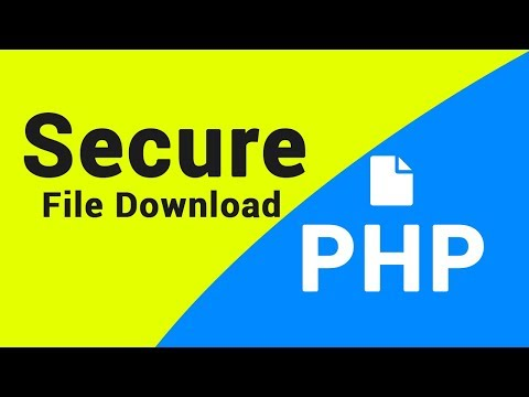 PHP Tutorial | Secure File Download