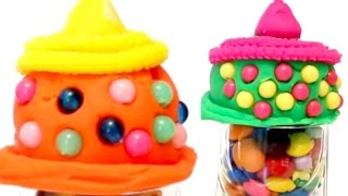 Play-Doh Ice Cream DISNEY Surprise Toys video for KIDS