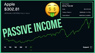 What $12,000 Invested Pays in Dividends - Robinhood Investing | Apple Stock Dividend Reveal