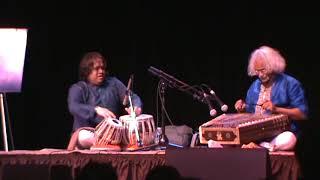 Hindole Majumdar(Tabla)in concert with Santoor maestro Pandit Tarun Bhattacharya live in   Canada