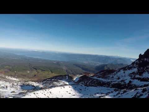 Trek Up Villarrica Volcano
