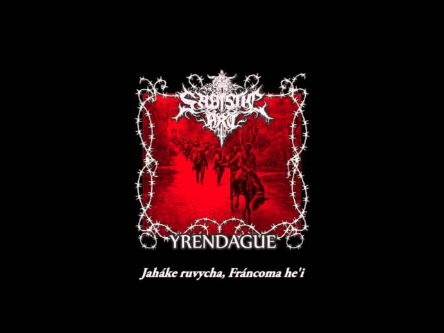 Sadistic Art - Yrendague (Lyrics)