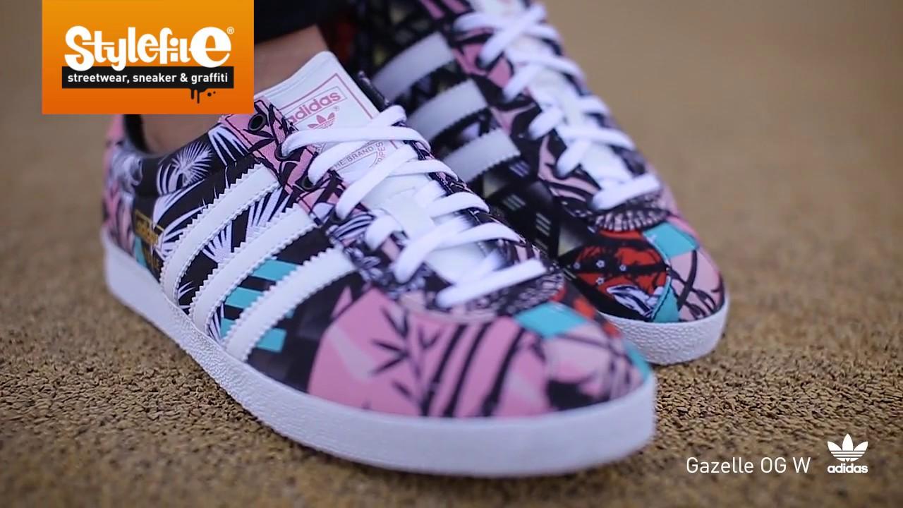 adidas Originals Gazelle Women Sneaker pink (On Feet) @Stylefile