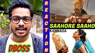 Saahore Saaho Song Reaction Video | Kurukshetra | Challenging Star #DBoss,Munirathna,Vijay #Oyepk
