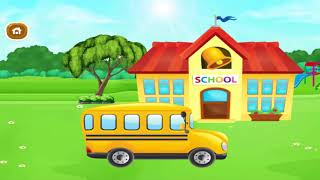 Back To School Kids Game - Baby Play & study colorations, numbers - Care games for youngsters & Fam