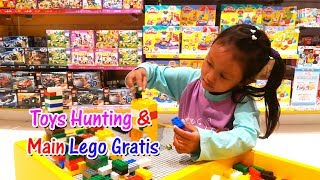 Toys Hunting   Bermain Lego Gratis di Kids Stations Mall Resinda