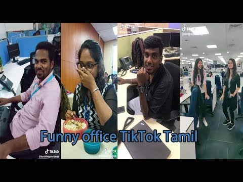Office tiktok tamil comedy best funny videos collection