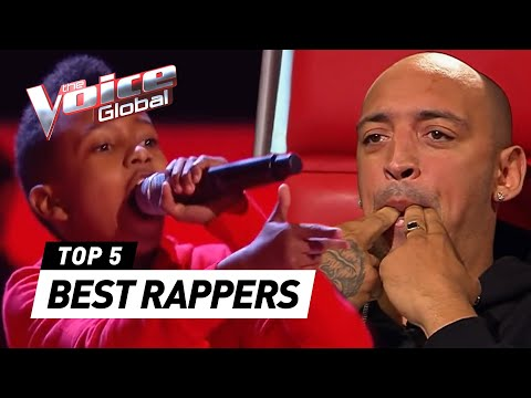 BEST RAPPERS in The Voice Kids [PART 3] | The Voice Global