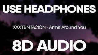 Xxxtentacion & Lil Pump - Arms Around You 8d  Ft. Maluma & Swae Lee