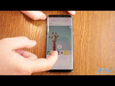 Как установить фото на контакт в Samsung Galaxy S8 (XDRV.RU)