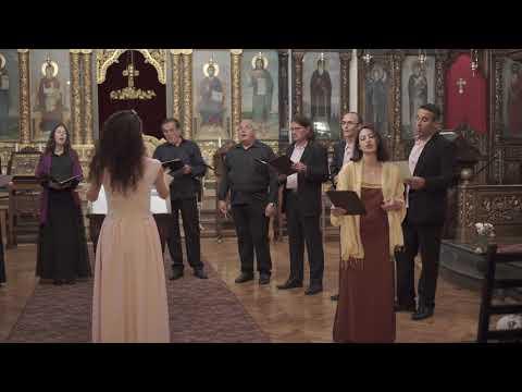 Agni Parthene\Ἁγνὴ Παρθένε\Чистая Дево - Denitza Seraphim & Spasenie/Salvation CHOIR