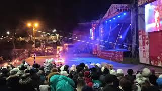 Фото Рязань новогодняя столица 2020 Леволыбедский бульвар