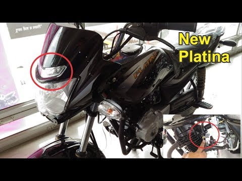 2018New Bajaj Platina Comfortec Bs4 Price Mileage New Model, Features Led Lights Tyres New Review