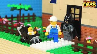 Lego Batman Babysitting: Become A Child Learn The Alphabet