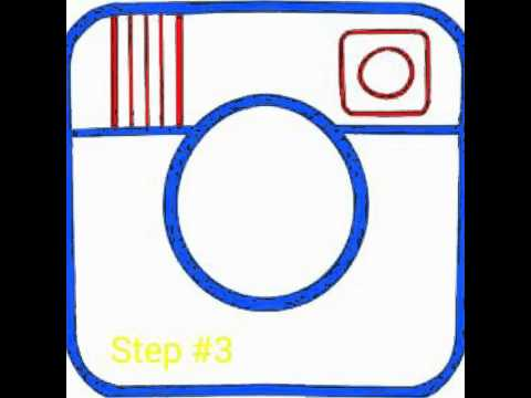 How to draw the instagram logo step by step easy youtube for Draw my logo