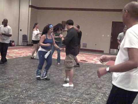 2009 Puerto Rico Salsa Congress Beginner Salsa Class (On1) - LatinDanceFactory.com