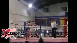 Soledad Luna Exhibición de Kickboxing