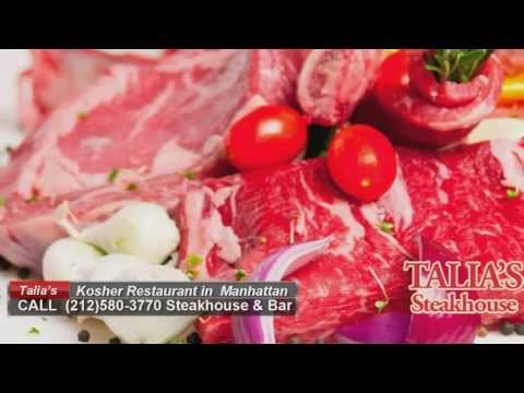 Kosher restaurants in NYC | Manhattan Talia's Steakhouse & Bar