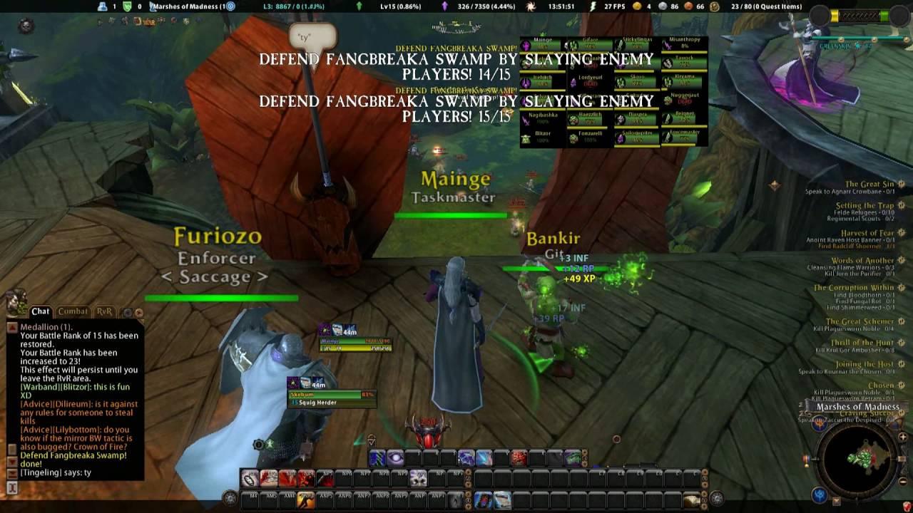 Warhammer online ror sinisterror dps dok solo roam/duels youtube.
