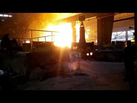 Accident at steel plant