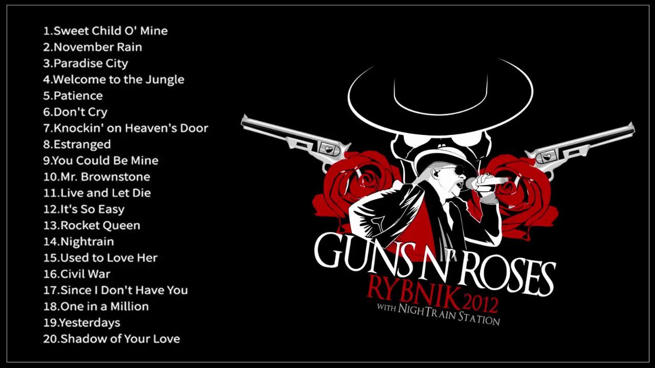 Guns N' Roses Greatest Hits Full Album 2019 - Best Songs Of Gun N Roses
