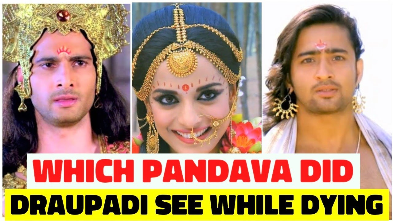 Which Pandava Did Draupadi See While Dying?