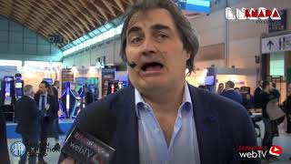 Intervista esclusiva a Pierluigi Pardo ad Enada Primavera 2018 a Rimini - Italy - tiki taka