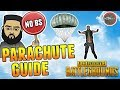 No BS PUBG Parachute Guide | How to Parachute Further & Faster
