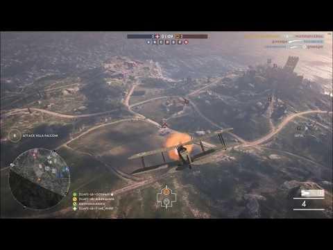 BF1 Tank Hunter Attack Plane Montage