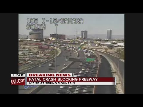 Man running across I-15 struck and killed by car