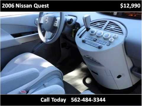 2006 Nissan Quest Used Cars Norwalk CA