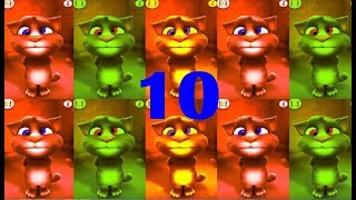 Learn Colors with My Talkign Tom Learn Numbers 1 To 10 Kids Learning with Funny Animation