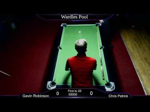 Wardles Pool; Chris Patrick v Gavin Robinson