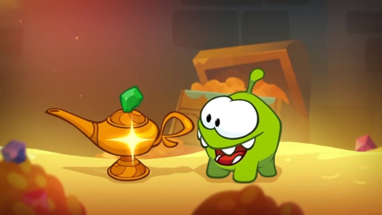Om Nom Stories (Cut the Rope) - The Magic Lamp (Episode 31, Cut the Rope: Magic)