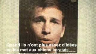 Jean-Pierre Ferland - Les Journalistes (1965) avec paroles