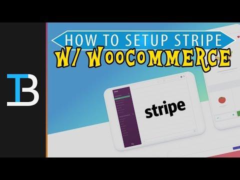 (28) How To Setup Stripe in WooCommerce - YouTube