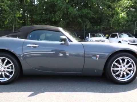 2008 Pontiac Solstice Soft Top Convertible Charlotte Nc