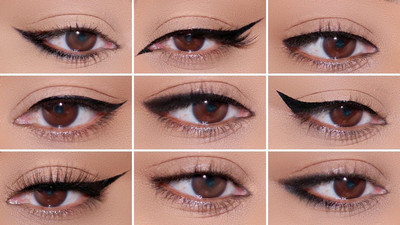 Download How To: 9 Different Eyeliner Styles on HOODED EYES | Easy Beginner Friendly Tutorial