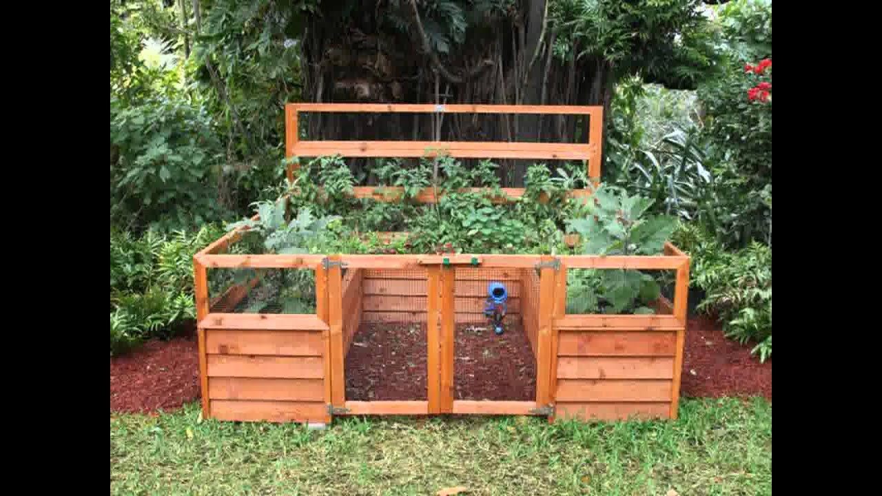 Small Home backyard vegetable garden ideas YouTube