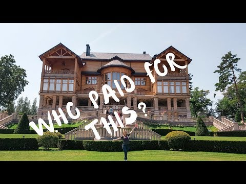 The museum of Corruption - a tour of the Mezhyhirya Residence in Ukraine