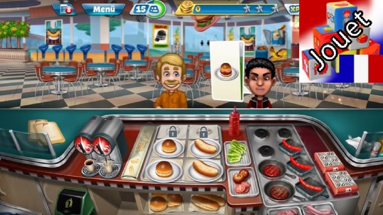 Cooking Fever Android Ios Surmenage Dans La Cuisine Youtube