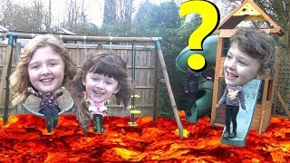 Ava Isla and Olivia Play The Floor is Lava with Surprise Special Guest