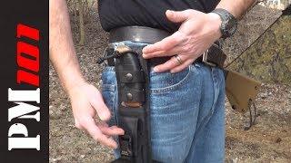 TOPS Tahoma Field Knife: False Edge Version and Sheath Mods