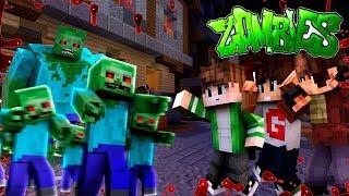 ЗОМБИ АПОКАЛИПСИС В МАЙНКРАФТЕ! Толпы ЗОМБИ атакуют нас в Zombies Minecraft! Мини-игры!