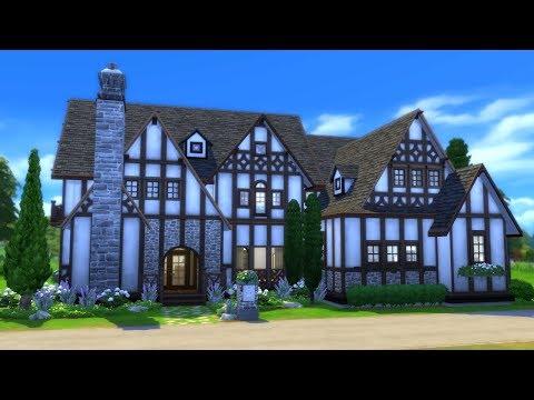 LAVENDER TUDOR || The Sims 4 Speed Build