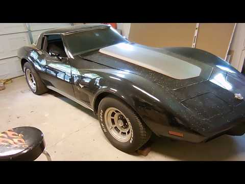 Roger's 1978 C3 Corvette Radiator & Window Repair Video 1